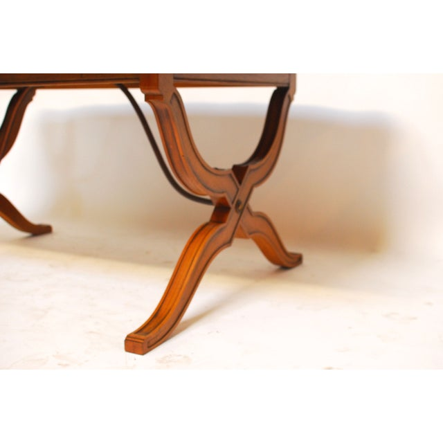 Spanish Trestle Dining Table - Image 5 of 6