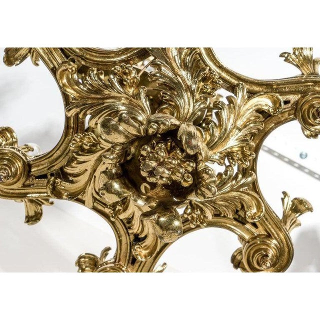 Gothic English Gothic Revival Bronze Chandelier For Sale - Image 3 of 13