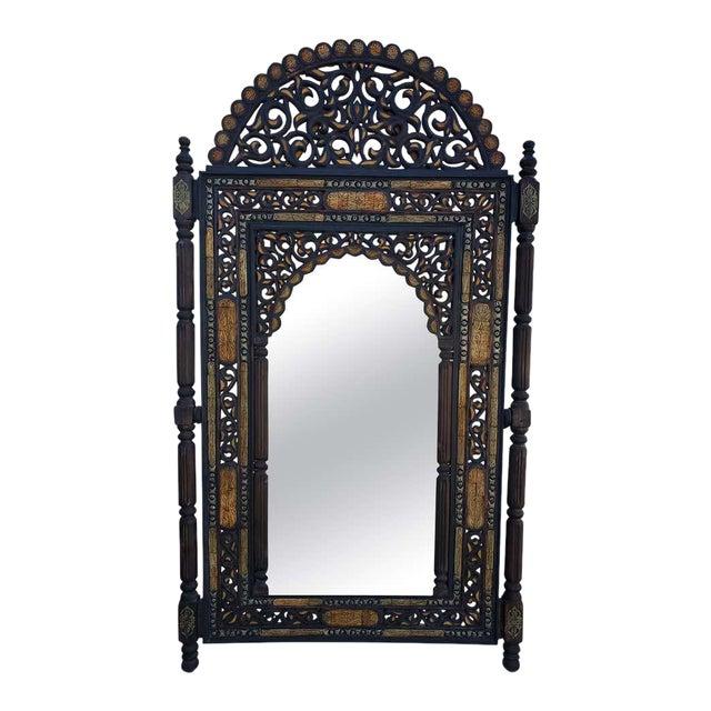 Moroccan Large Wall Mirror Chairish
