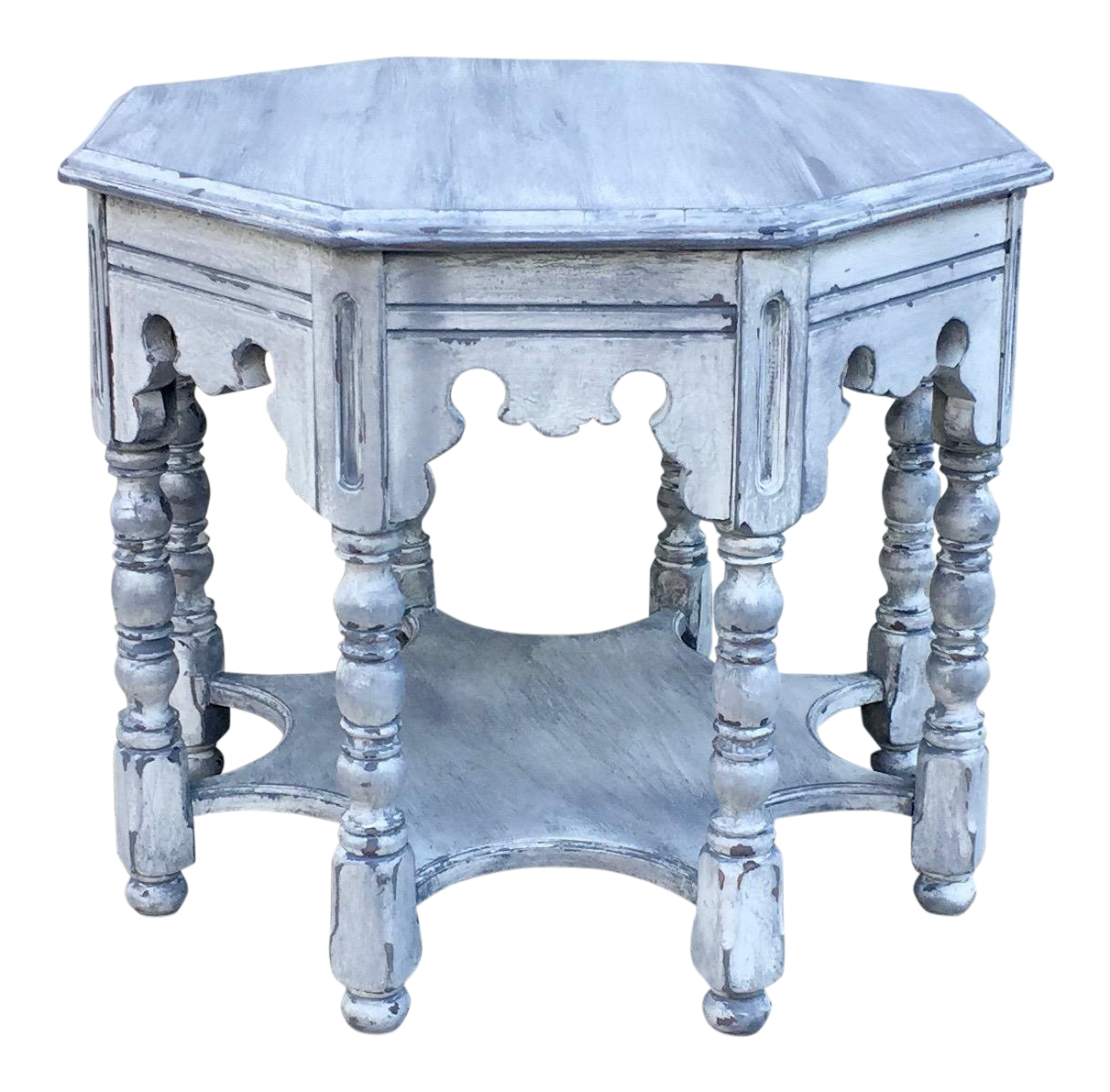 1920s Victorian Style Octagonal Side Table