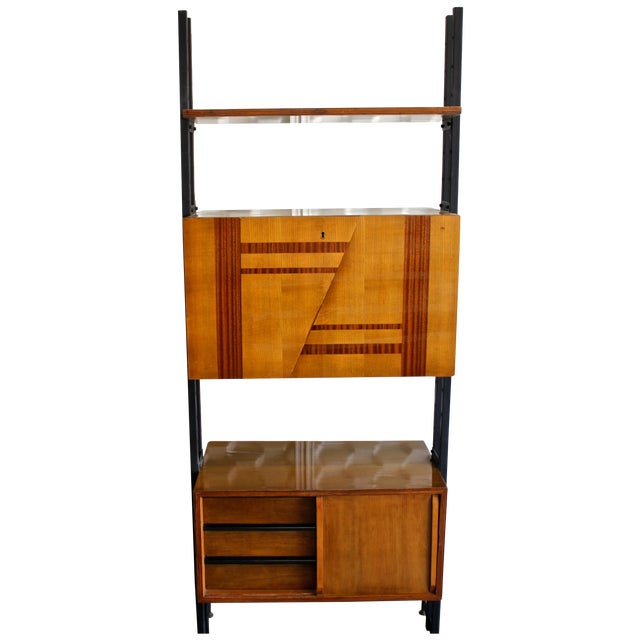 Mid Century Modern Italian Bar & Display Unit - Image 1 of 6