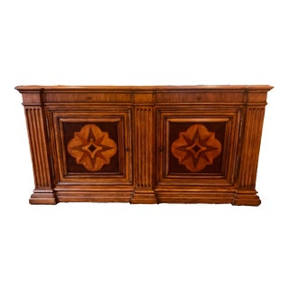 Ethan Allen Lombard Marquetry Sideboard