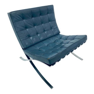 "Mies Van Der Rohe ""Barcelona"" Chair for Knoll, 1960s For Sale"