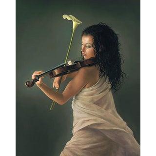 """""""Sonata in Cala"""" Contemporary Figurative Giclee Print by Dario Campanile For Sale"""
