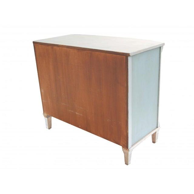Swedish Blue and White Dresser - Image 6 of 10