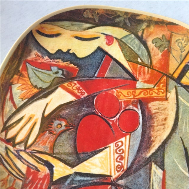 """Picasso Collector's Plate """"Farmer's Wife"""" - Image 4 of 5"""