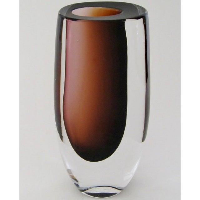 Vintage Vicke Lindstrand Glass Vase Chairish