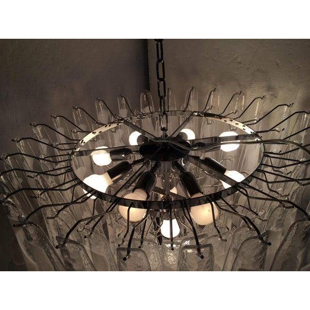 "Murano Mazzega Style Murano Glass ""Selle"" Sputnik Chandelier For Sale - Image 4 of 11"