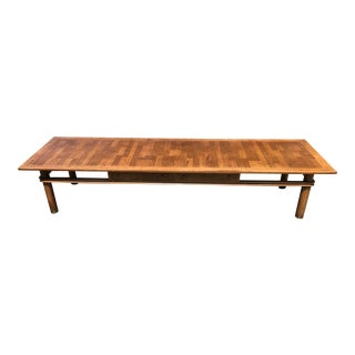 Mid Century Coffee Table by Johnson Furniture For Sale