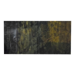 Contemporary Abstract Painting by Kelly Caldwell For Sale