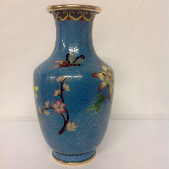 Meiji Japanese Cloisonné Vase - Image 4 of 9