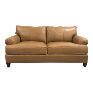 Century Furniture Leatherstone Small Apt Sofa For Sale