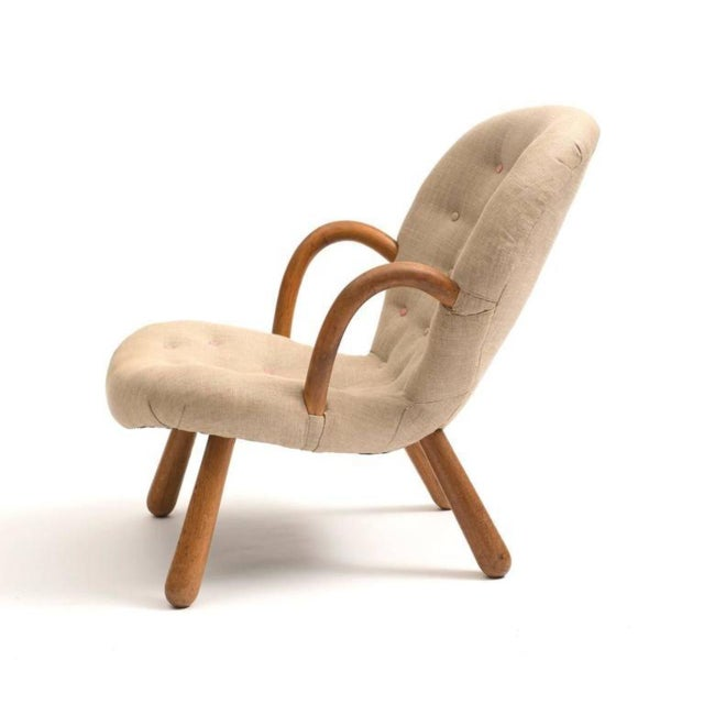 Clam Chair by Philip Arctander, 1940s For Sale - Image 4 of 6