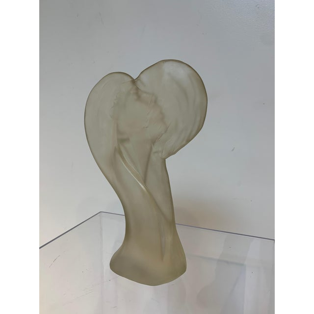 1960s Lovers Lucite Sculpture by Mirage Ltd Bohemia New York For Sale - Image 4 of 10