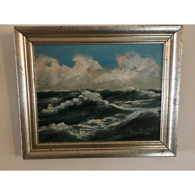 Original Seascape Oil Painting - Image 2 of 6