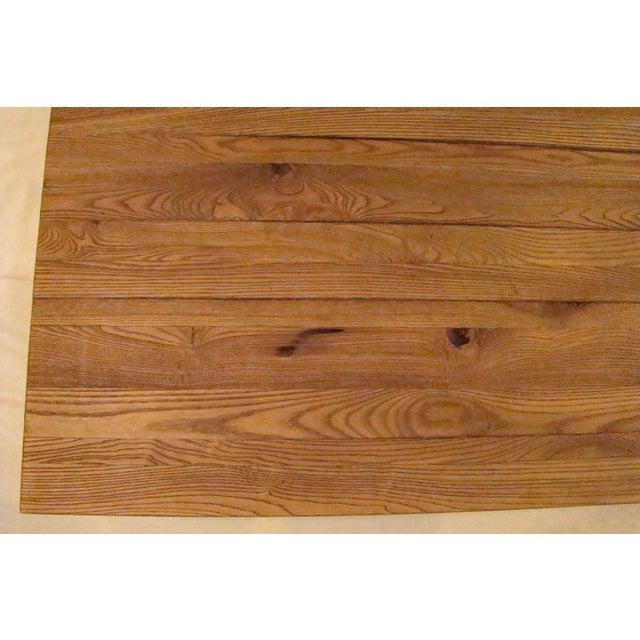 reclaimed wood top coffee table chairish