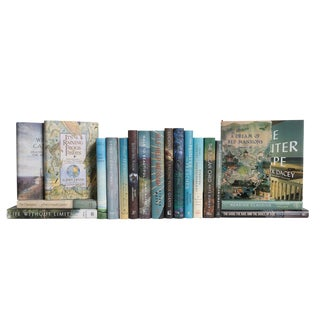 Modern Curated Dust Jackets Book Set, (S/20) For Sale