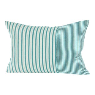 Highlands Striped Pillow Cover in Tulum For Sale
