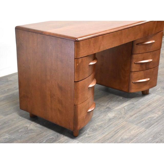 Phenomenal Heywood Wakefield Solid Birch Desk Download Free Architecture Designs Scobabritishbridgeorg