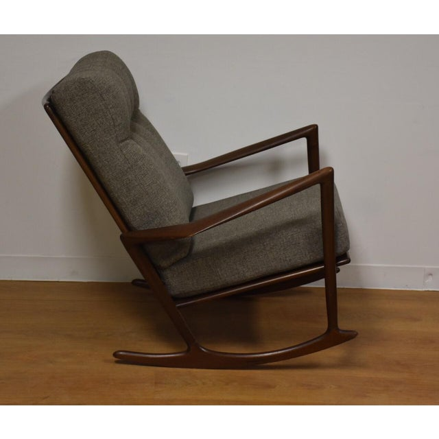 Ib Kofod Larsen for Selig Rocking Chair - Image 2 of 11