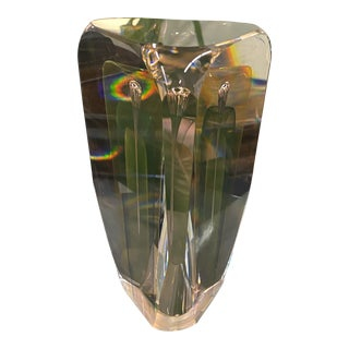 Art Glass Sculpture by Ed Nesteruk For Sale