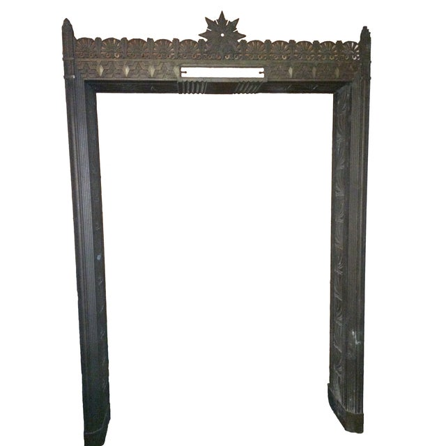 Art Deco Bronze/Brass Elevator Door Frame For Sale