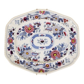 "Large ""Columbia"" Transferware Platter For Sale"