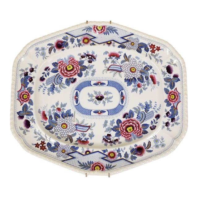 "Large ""Columbia"" Transferware Platter For Sale"