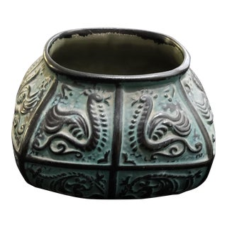 Asian Pewter Bowl