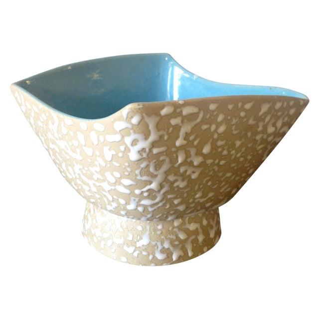 Mid-Century Speckle Amorphous Bowl For Sale