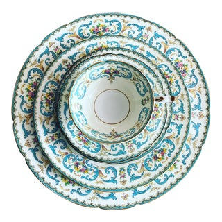 """Paragon """"Queen Anne"""" Pattern China Dinnerware For Sale"""