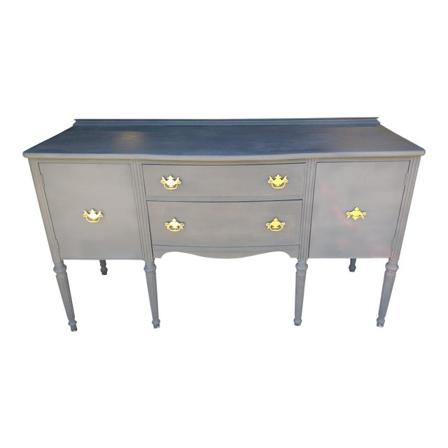 Vintage Chalk Painted Sideboard - Image 1 of 7