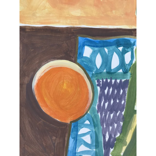 1990s 1998 Still Life Painting For Sale - Image 5 of 6