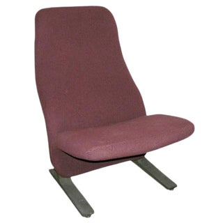 "1960s Vintage ""Concorde"" Chair by Pierre Paulin For Sale"