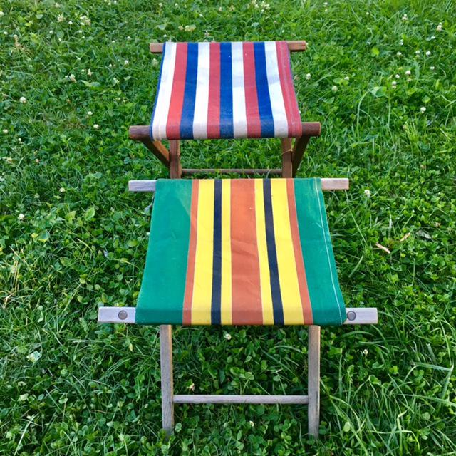 Vintage Camp Stool - A Pair - Image 11 of 11