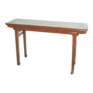 Antique Natural Console Table