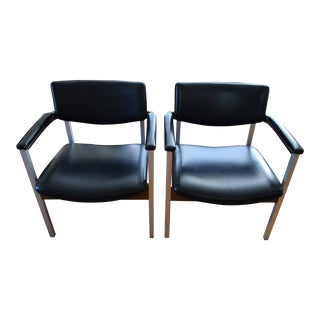 1960s Vintage Thonet Armchairs - A Pair For Sale