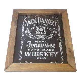 1960's Jack Daniels Promo Sign