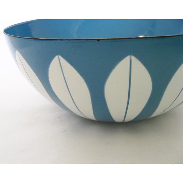 Mid 20th Century Cathrineholm Enameled Serving Bowl For Sale - Image 5 of 6