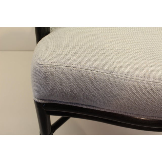 McGuire Barbara Barry Oval X Back Chair - Image 5 of 6