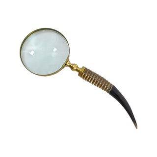 Horn Handled Magnifying Glass For Sale