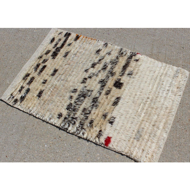 2010s Contemporary New Cream and Black Rug - 2′1″ × 3′4″ For Sale - Image 5 of 7
