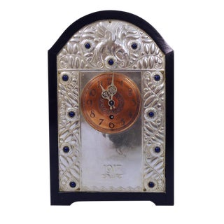 Finely Worked Secessionist Mantle Clock For Sale