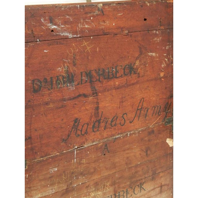 Rare Anglo-Indian Campaign Dresser - Image 9 of 10