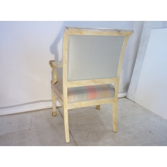Wood Late 20th Century Lion Armchair For Sale - Image 7 of 8
