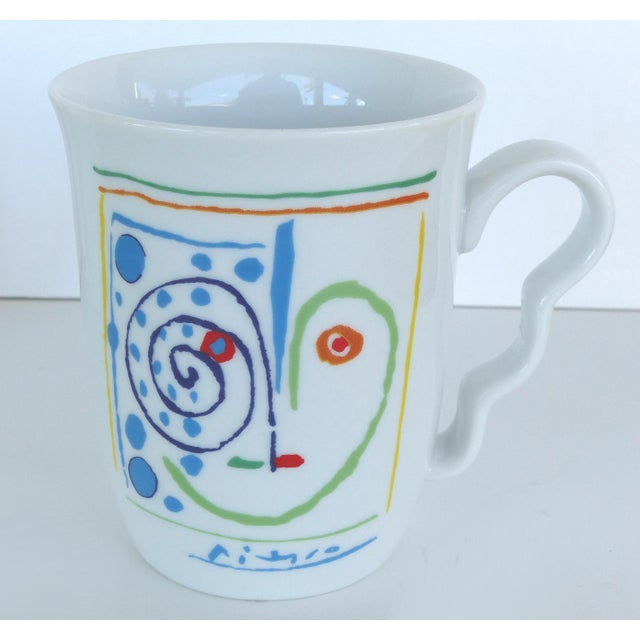 Contemporary Italian Picasso Tea & Coffee Lunch Set For Sale - Image 3 of 10