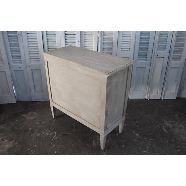 20th Century Vintage Swedish Gustavian Style Nightstands - A Pair For Sale - Image 12 of 13