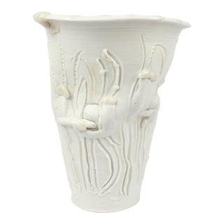 """Large Complex Light Gatherer Porcelain Vase by Rudolf """"Rudy"""" Staffel For Sale"""
