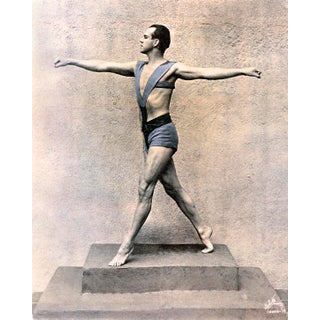 Ted Shawn, American Modern Dancer, C.1920s (11x14 Canvas) For Sale