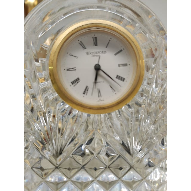 Waterford Crystal 1990s Waterford Crystal Clock For Sale - Image 4 of 5